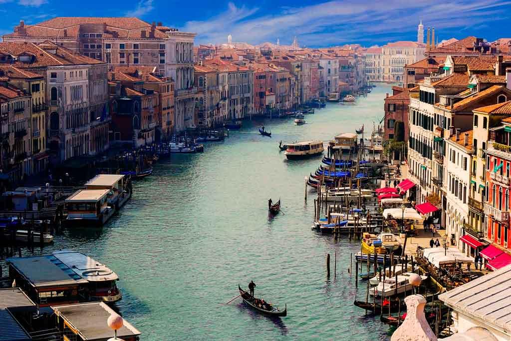 O que fazer em Veneza grande canal