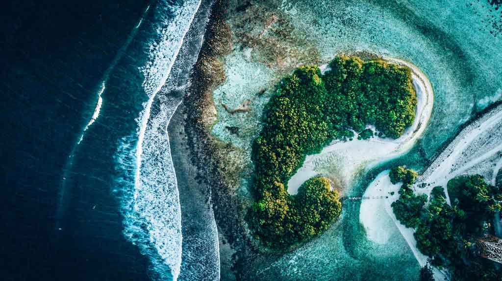 Onde ficam as ilhas maldivas Thulusdhoo