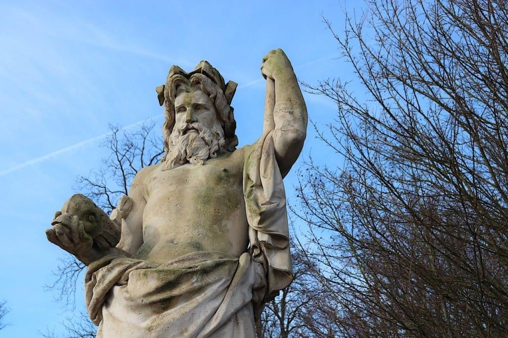 7 Maravilhas do mundo estátua de Zeus