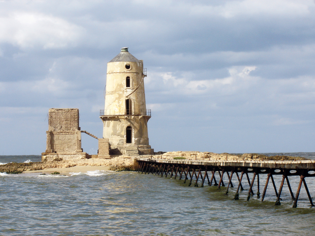 7 Maravilhas do mundo Farol de Alexandria