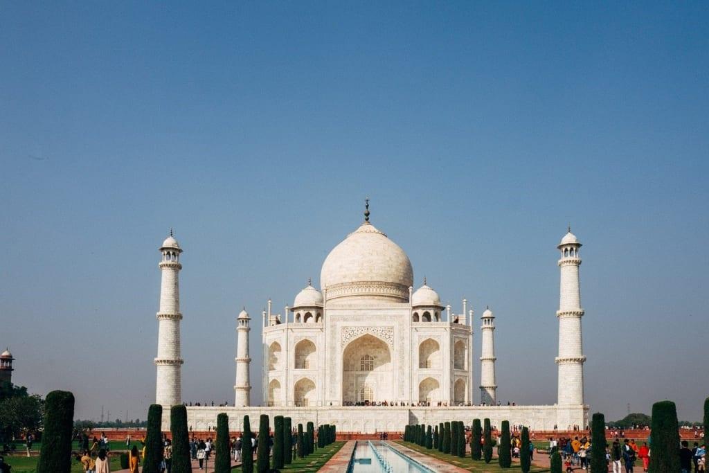7 maravilhas do mundo Taj Mahal