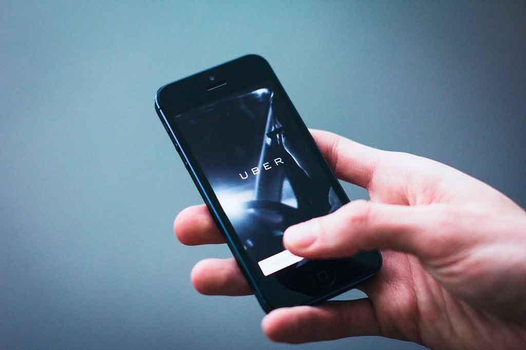 Bleisure utilize o App de transporte