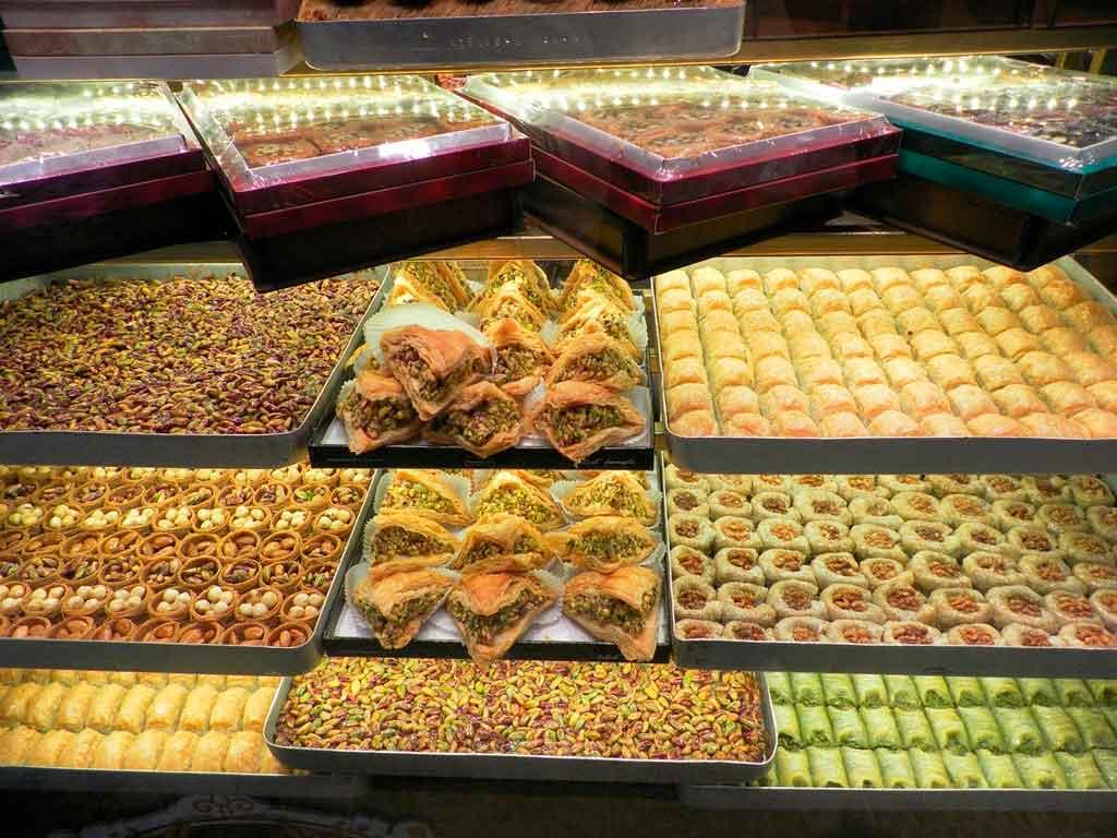 Pontos turisticos da turquia grande bazar