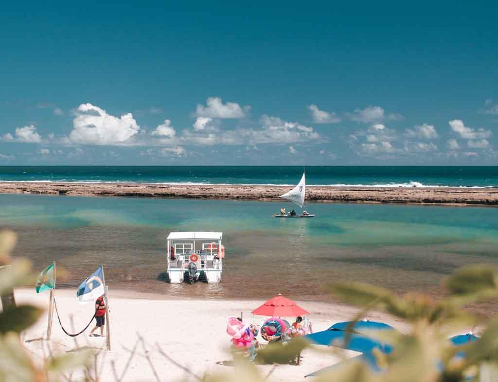 Praias de Pernambuco Porto de Galinhas