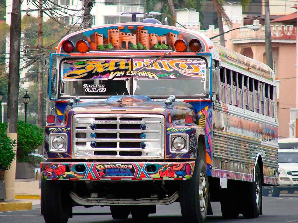 Turismo no Panamá transporte