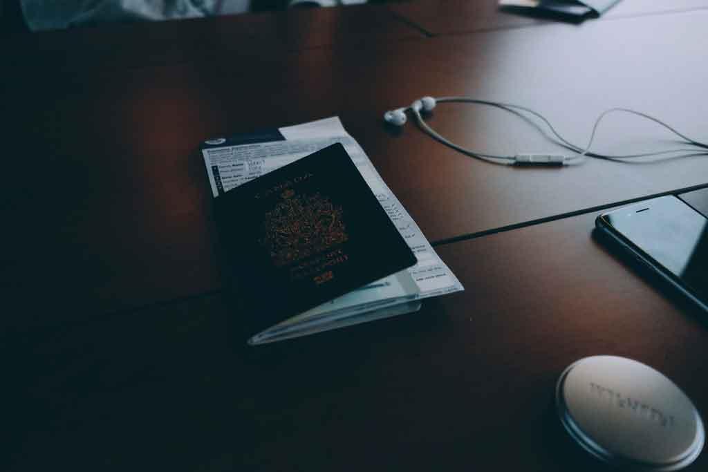 Viagens corporativas internacionais organização dos documentos