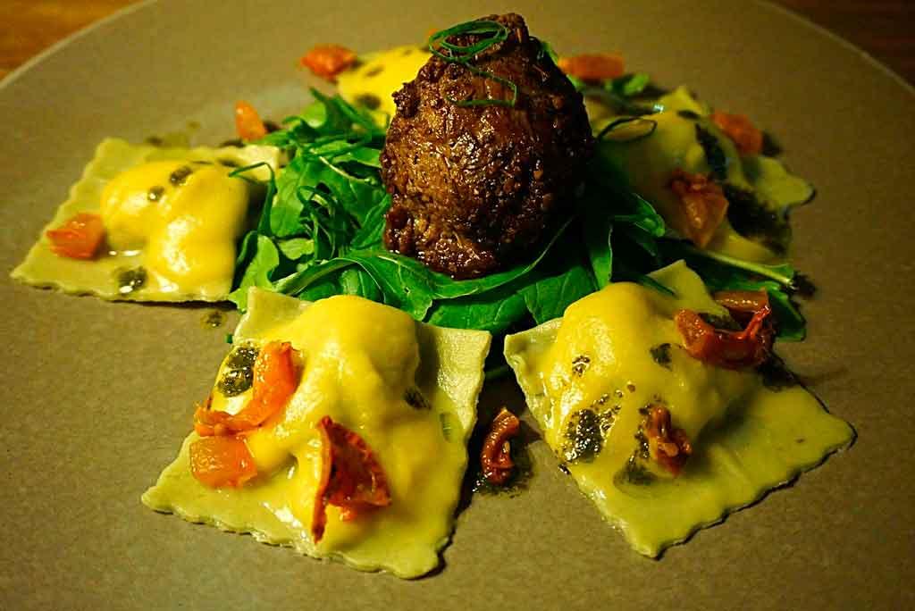 Comidas tipicas da Itália Ravioli