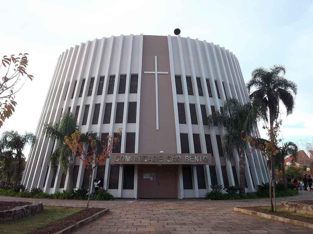 O que fazer em Bento Gonçalves Igreja de São Bento