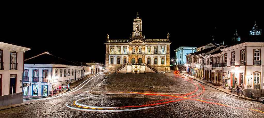 O que fazer em Ouro Preto a noite