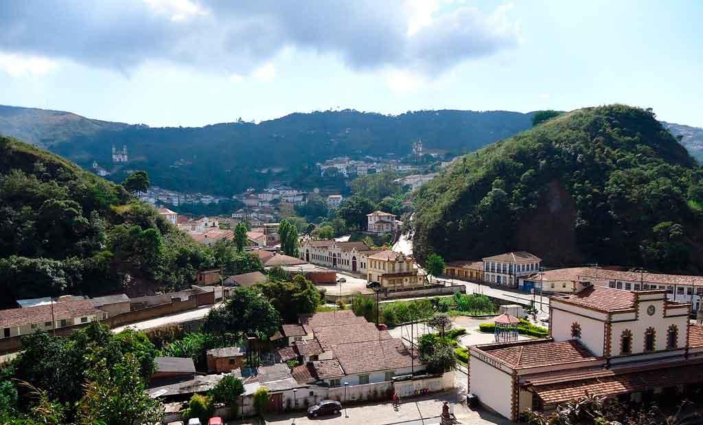 O que fazer em Ouro Preto mirantes