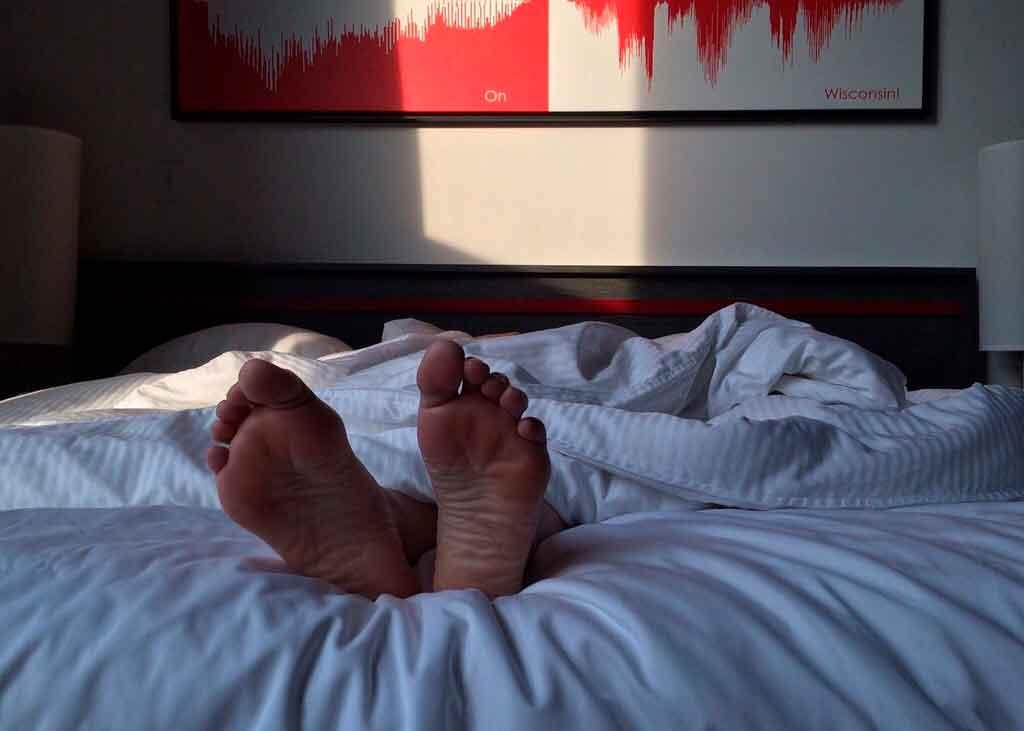 Produtividade em viagens noites de sono