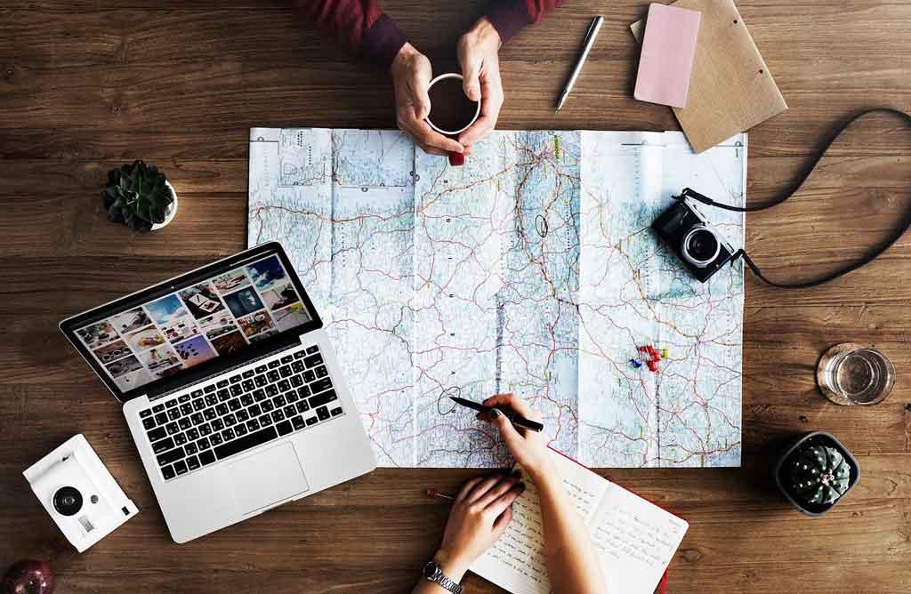 Produtividade em viagens planejamento