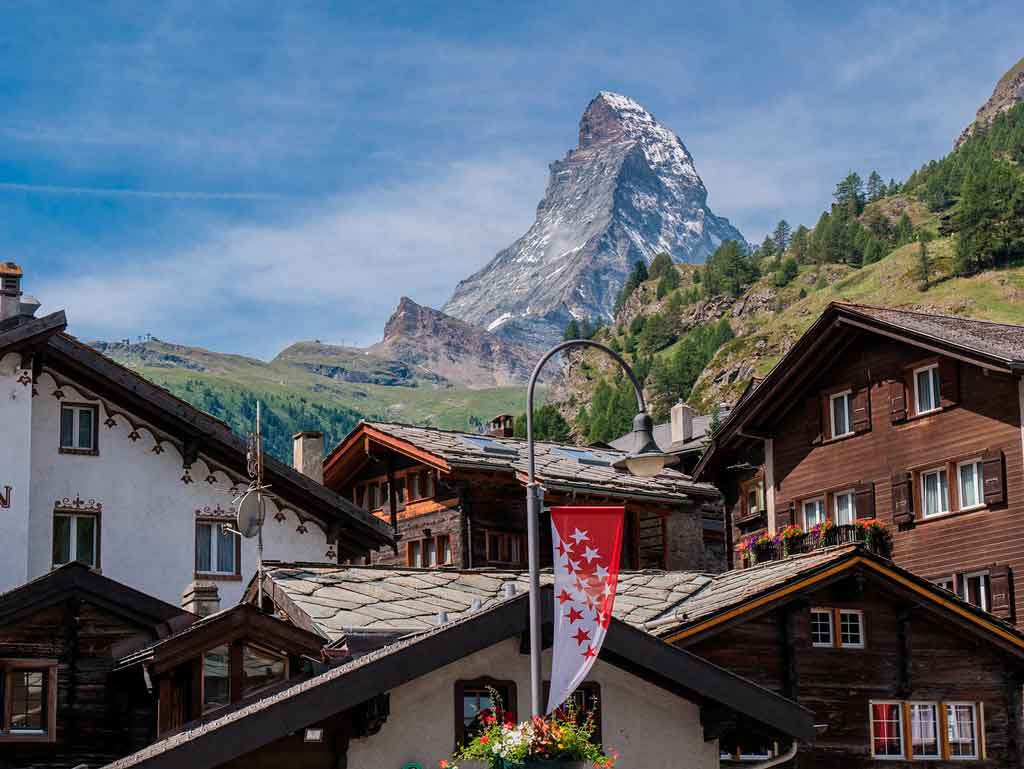 Roteiro Suíça cidade mais bonita