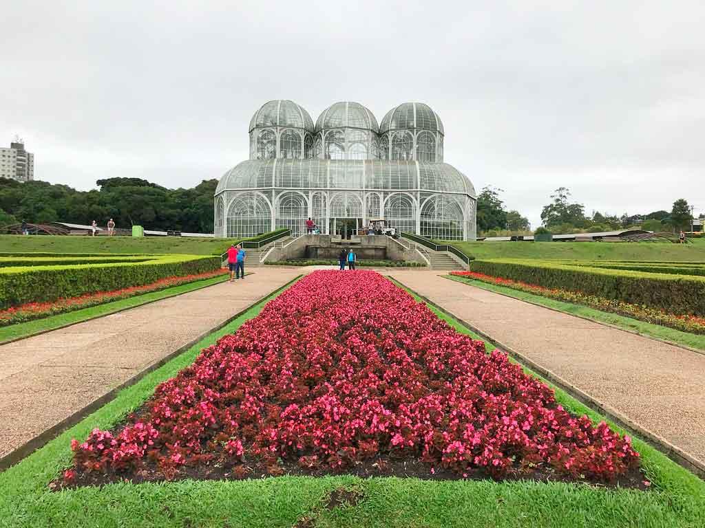 Vigem para Curitiba Jardim Botânico