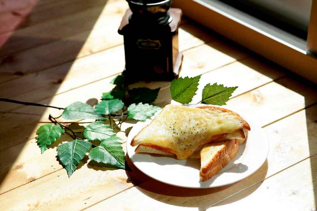 Comidas típicas da França Croque Monsieur