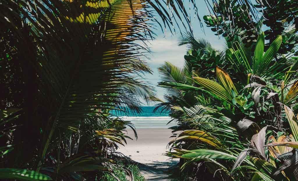 litoral sul da bahia praia de itacarezinho