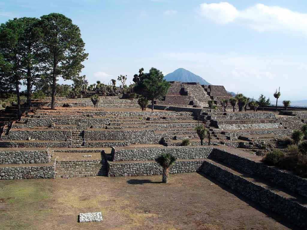 Puebla México pirâmide de Tapanapa