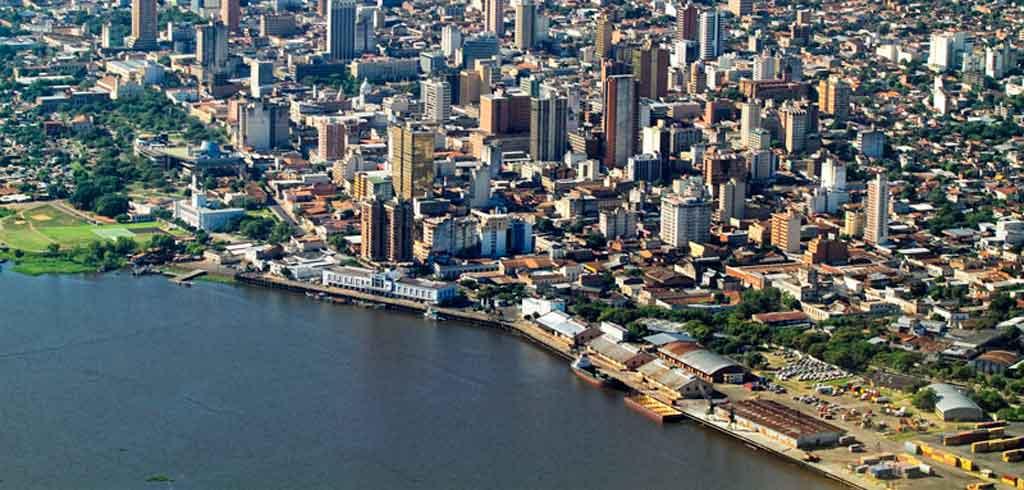 Assunção Paraguai onde fica