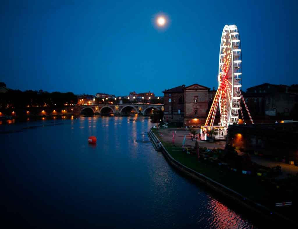 Bordeaux, França rio Garonne