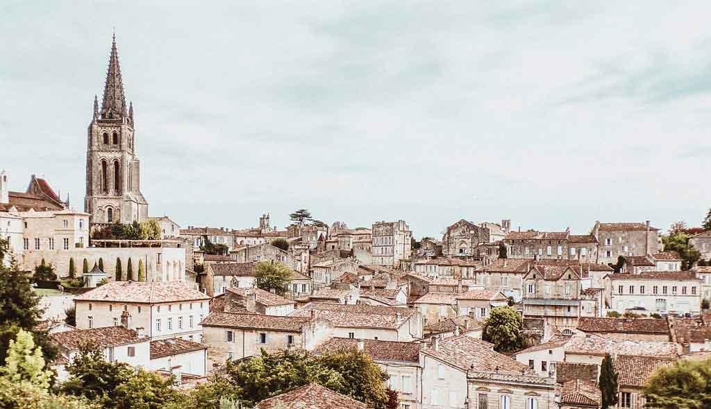 Bordeaux, França Saint Emillion