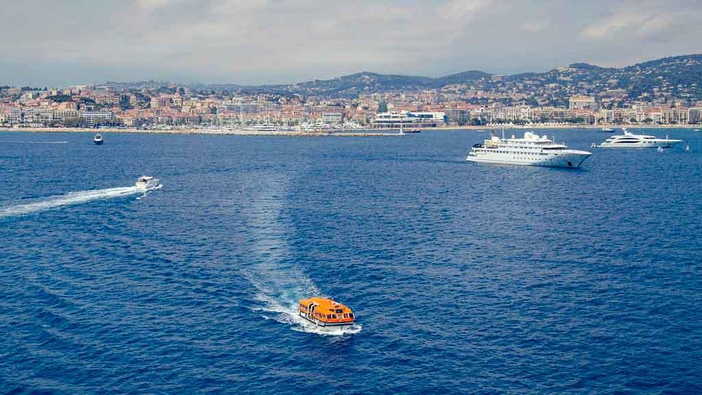 Cannes França praias