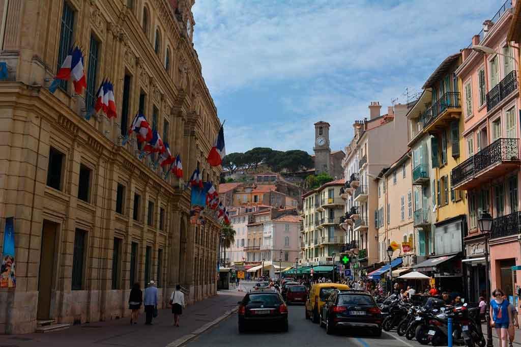 Cannes França rue d'antibes