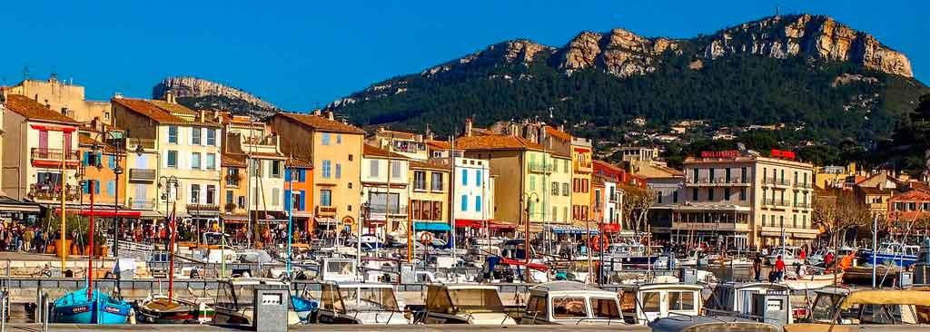 Cassis França centro e porto