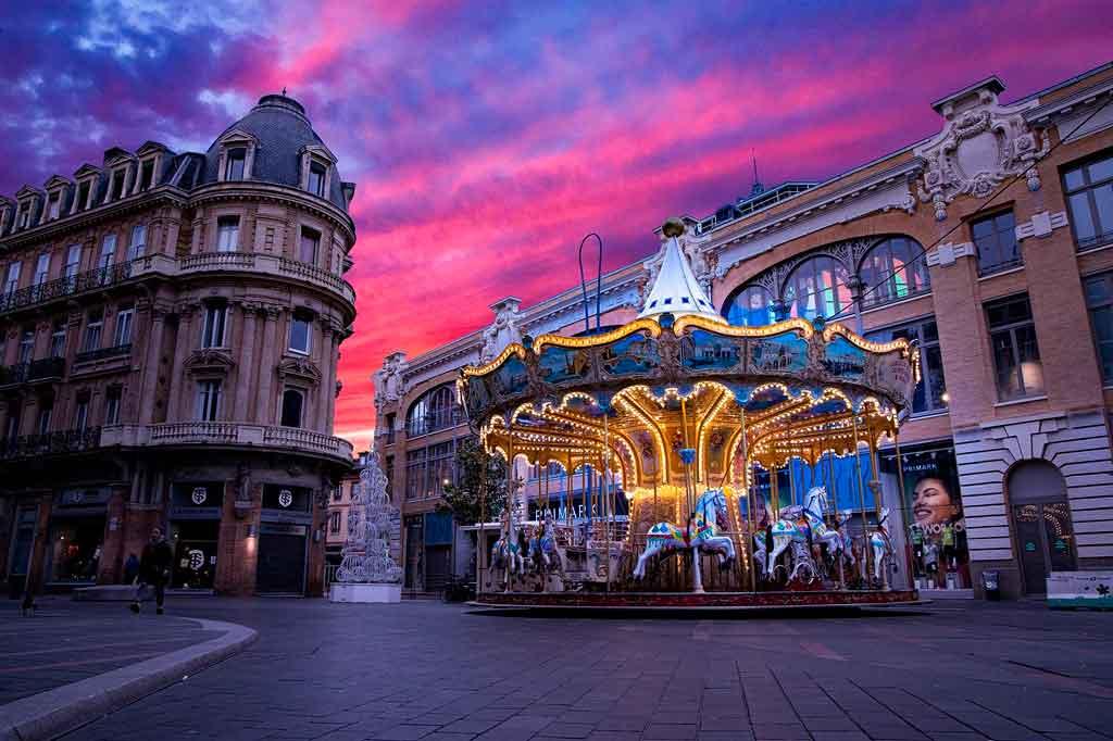 O que fazer em Toulouse a noite