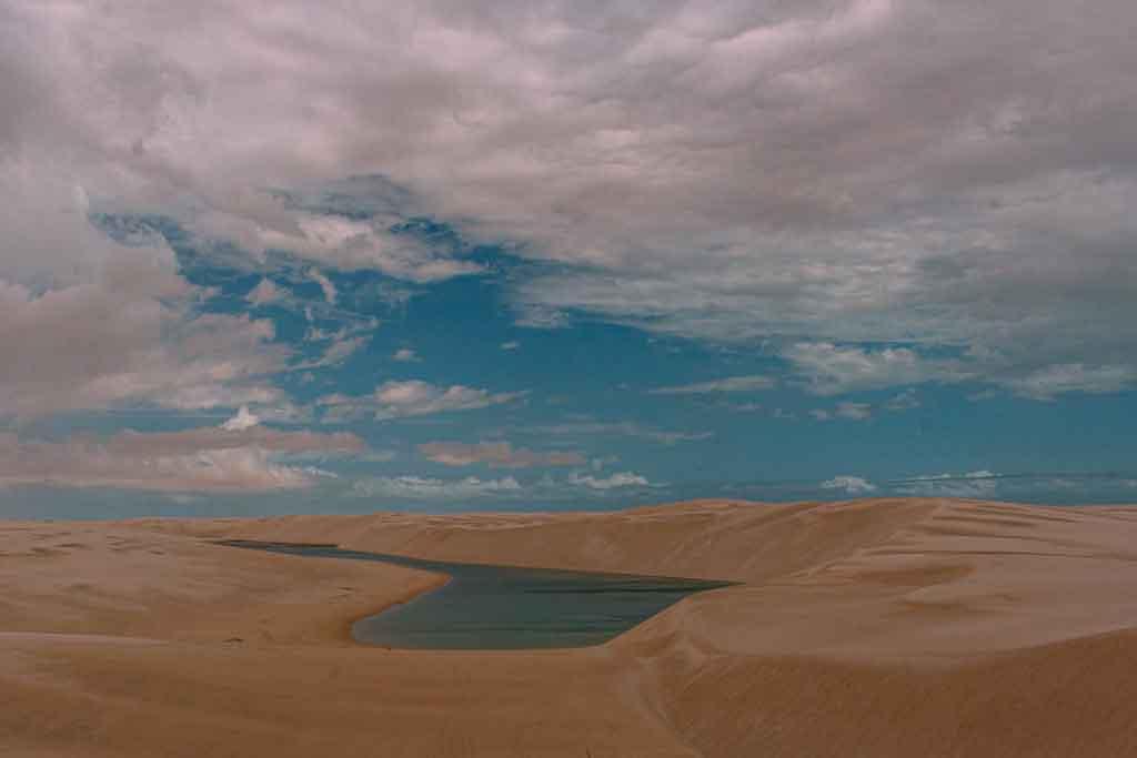 Parque Nacional dos Lençõis Maranhenses canto dos lençois