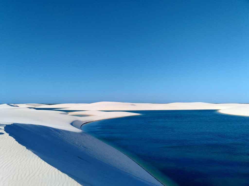 Parque Nacional dos Lençõis Maranhenses lagoa da betânia