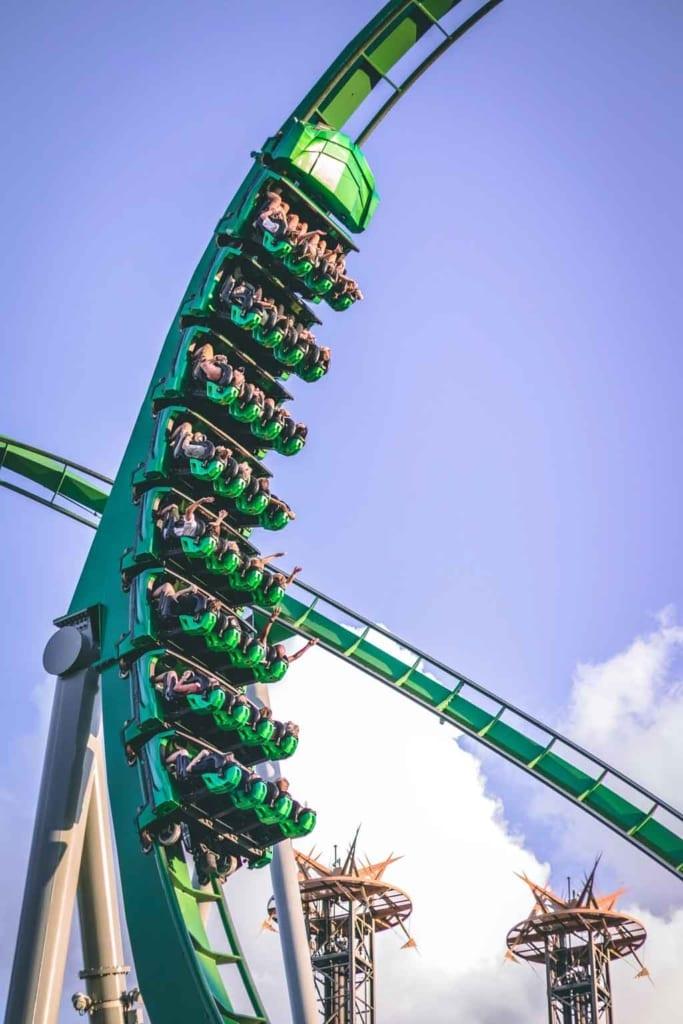 Parques universal Orlando rip ride rockit