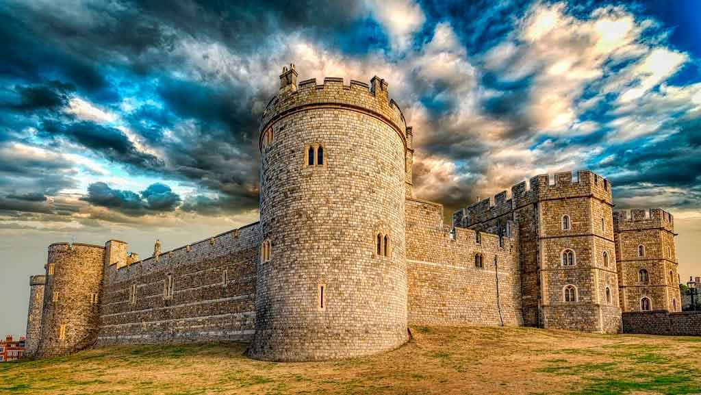 Pontos Turísticos da Inglaterra castelo de windsor