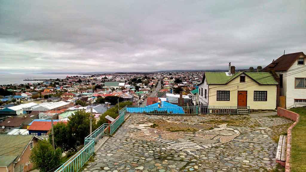 Punta Arena chile cerra de la cruz
