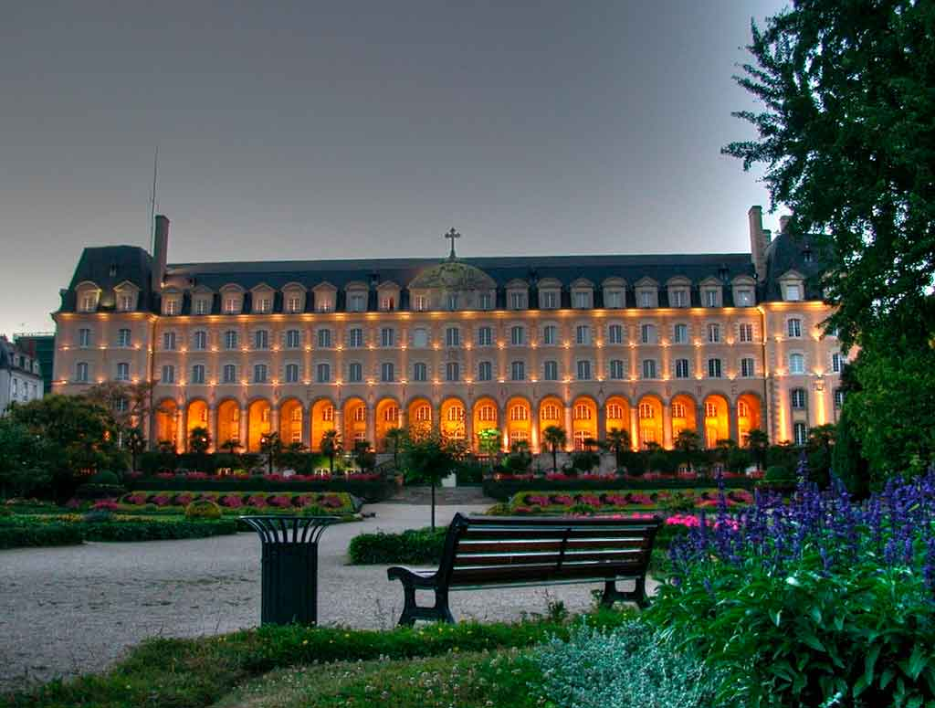 Rennes França Palais Saint Georges