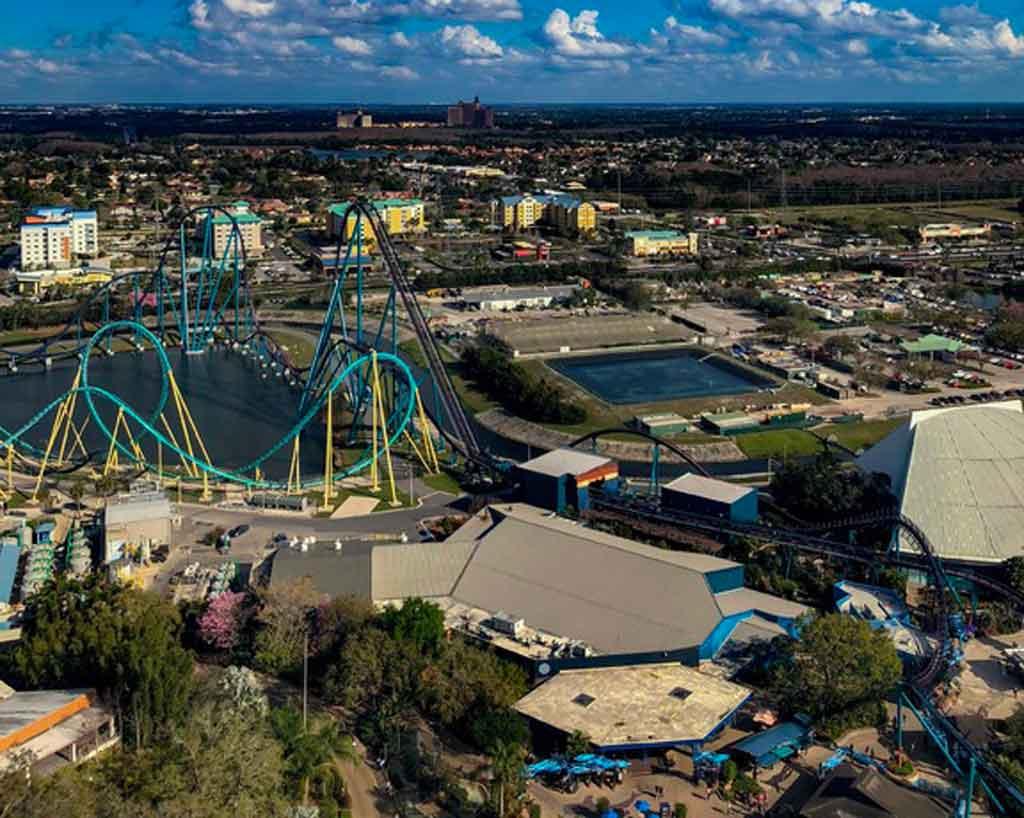 SeaWorld Orlando kraken unleashed