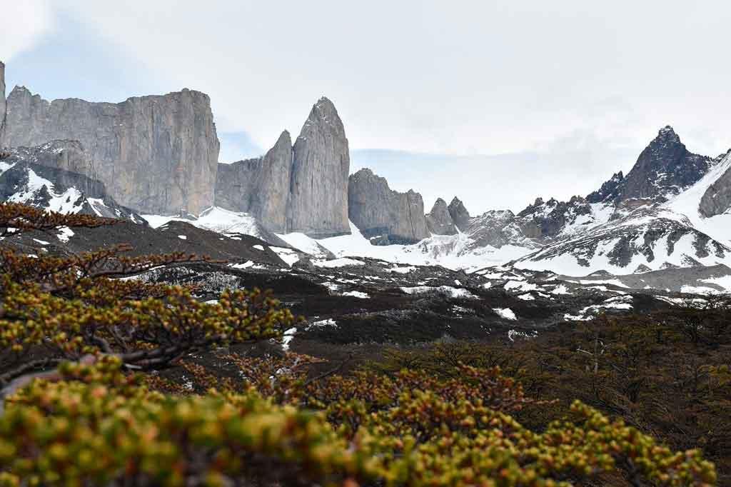 Torres del paine Chile circuito mirador