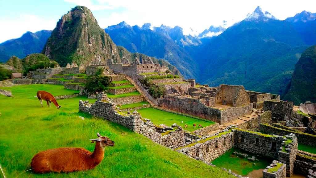 Turismo no Peru machu pichu