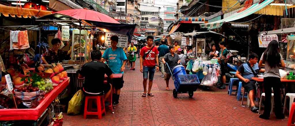 Bangkok Tailândia chatuchak market