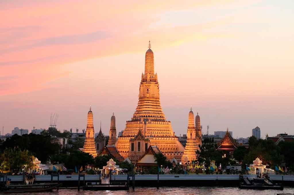 Bangkok Tailândia templo do amanhecer