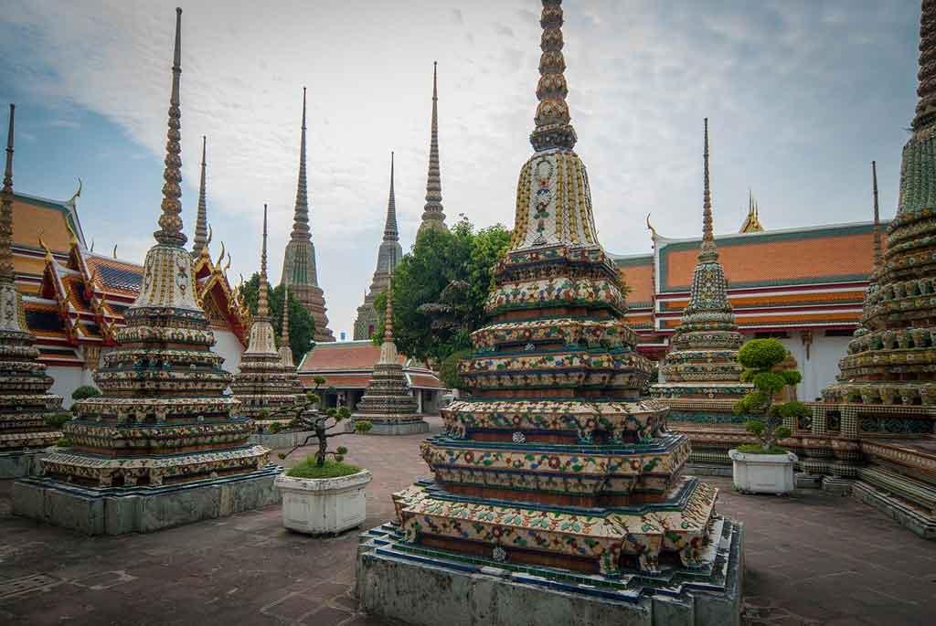 Bangkok Tailândia wat pho