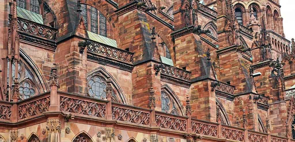 Estrasburgo, França catedral de estrasburgo
