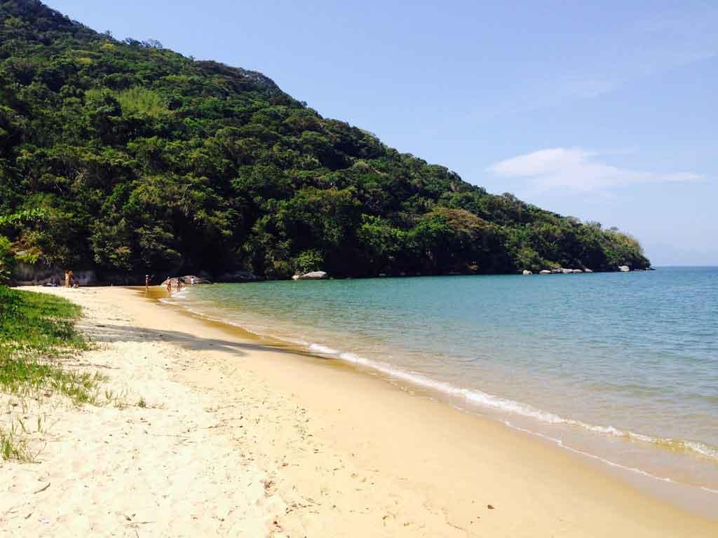 Ilha do campeche trilha pedra fincada
