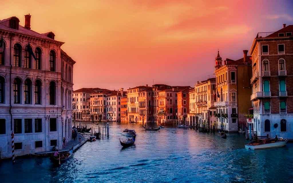 Lugares mais lindos do mundo veneza