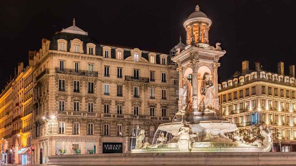 Lyon França presquile