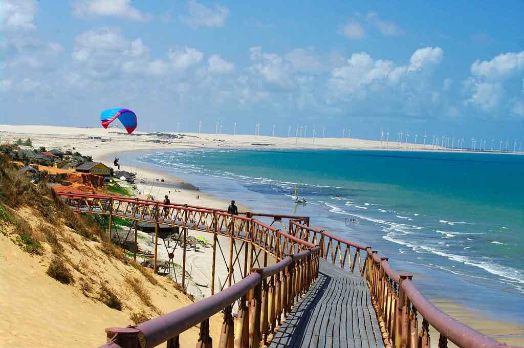Praia Canoa Quebrada onde fica