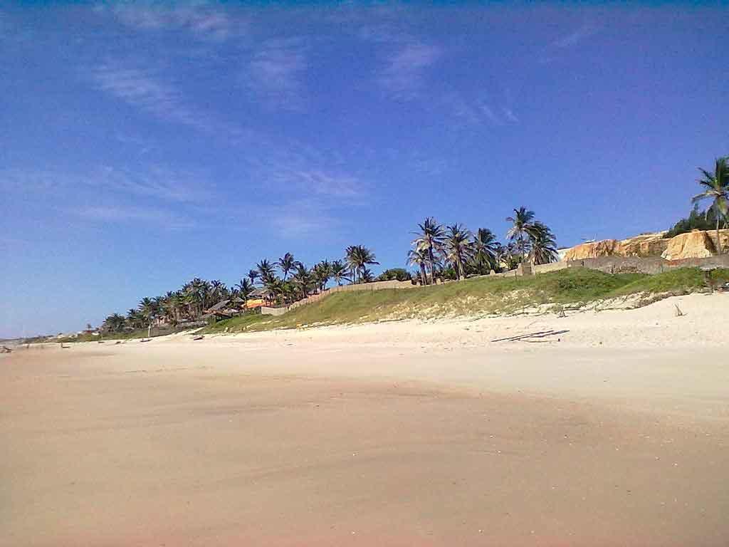 Praia Canoa Quebrada praia de majorlândia