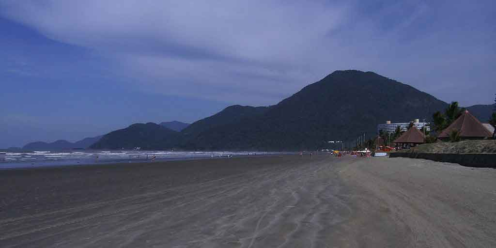 praia de Peruibé melhor praia