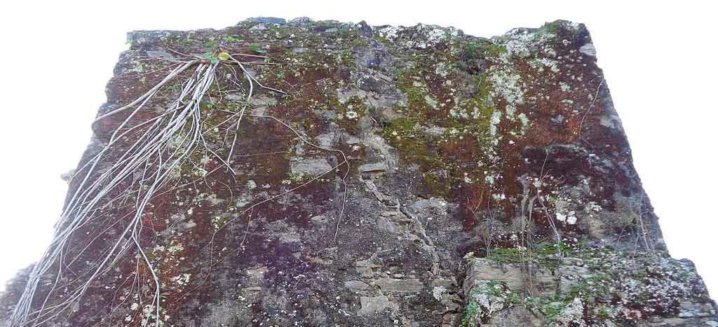 praia de Peruibé ruinas do abarebebe