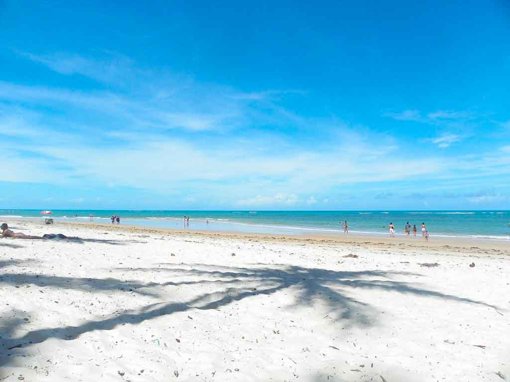 Praias do nordeste onde ficam