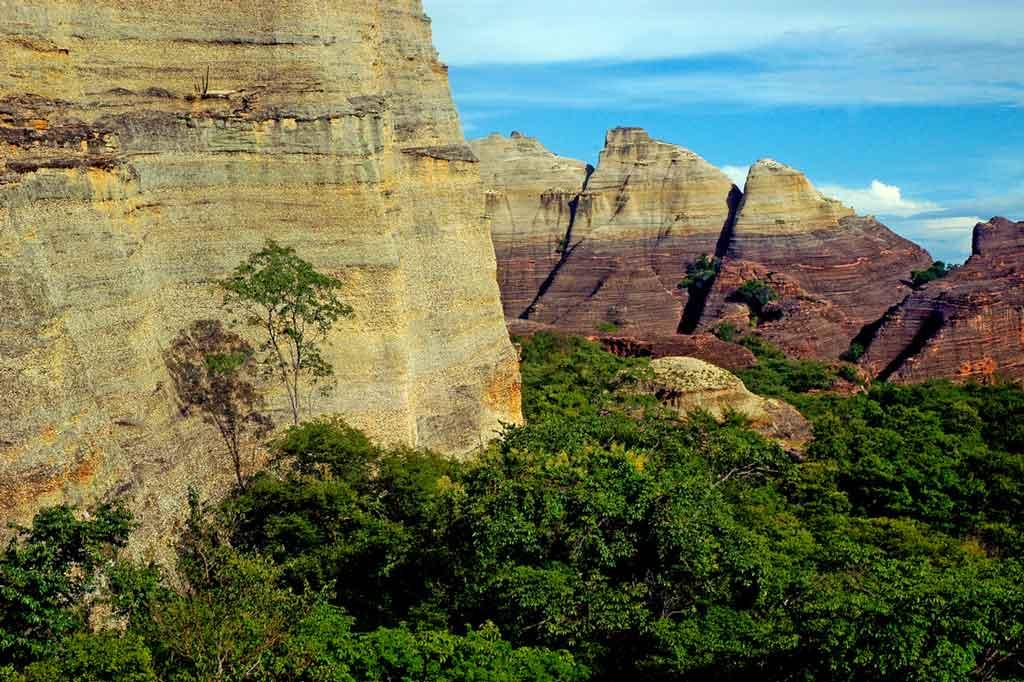 Serra da Capivara Baixão da Pedra Furada